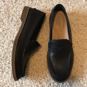 Sperry Top-sider Black Penny Loafer Size 5.5